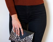 The Bobbi wallet - leopard