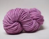 Single Ply Yarn Merino Slub Hand Dyed 44sp15016 Berry