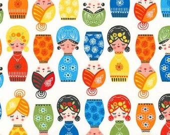 Little Senoritas in Cabana, Suzy Ultman, Robert Kaufman Fabrics, 100% Cotton Fabric, ASD-16535-288 CABANA