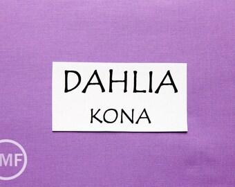 One Yard Dahlia Kona Cotton Solid Fabric from Robert Kaufman, K001-488