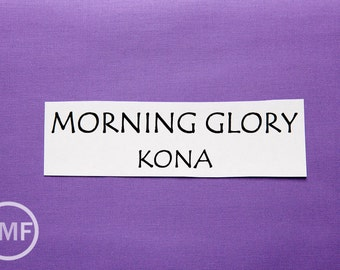 One Yard Morning Glory Kona Cotton Solid Fabric from Robert Kaufman, K001-495