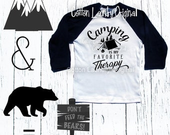 Back To School Shirt -Funny Kid's Shirt - Camping - Hipster Kids Clothes - Funny Toddler Shirt - Baseball Tee - Cool Kids Clothes