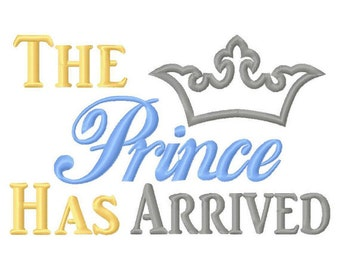 The Prince has Arrived Embroiderd Shirt perfect for a Disney trip