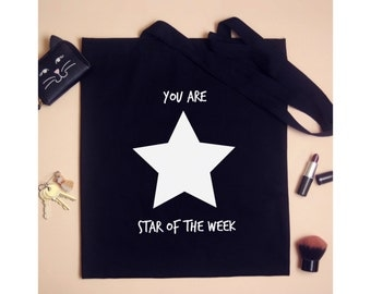 Teachers Tote Bag - You are star of the week