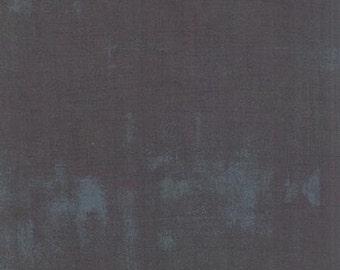Fabric by the Yard-Grunge Basics in Lead-Basic Grey for Moda