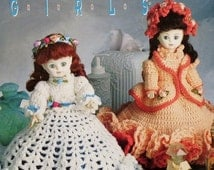 20%OFF Annie's Attic TISSUE COVER Girls By Mary Layfield - Crochet Doll Pattern