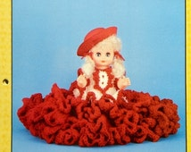 """20%OFF Td Creations CEIL 13"""" Bed Doll - Crochet Doll Dress Clothes Clothing Pattern"""