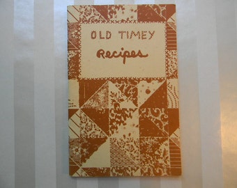 COOKBOOK, 1969 Old Timey Recipes, Conner