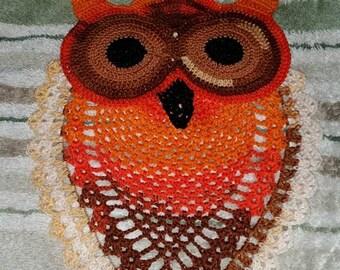 Autumn Owl Doily PDF