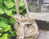 Crochet bag pattern, bucket bag crochet pattern