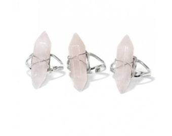 Rose Quartz ring SALE