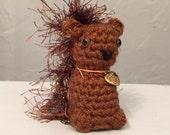 Little Baby Squirrel  - Made To Order -  squirrel amigurumi - hand crocheted squirrel