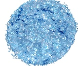 Periwinkle Blue SOLVENT RESISTANT Glitter 0.062 Hex - 1 Fl. Ounce for Glitter Nail Art, Glitter Nail Polish and Glitter Crafts
