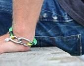 SALTI Nautical Rope Bracelet 'CC-LINK'