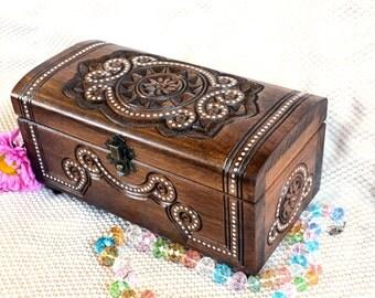 personalized jewelry Ring box Jewelry box Wooden box Wood box Personalized wedding gift Jewelry Jewellry box Wooden boxes boite a bijoux B64