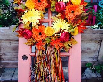 Festive and Fall Wreath