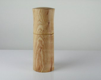 """8"""" Pepper Grinder in Irish Ash with CrushGrind mechanism"""