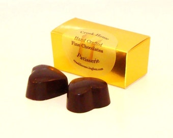 Creek House 2 Pc Chocolate Truffle Favor Boxes, with Dairy, 25 Boxes, Free Shipping