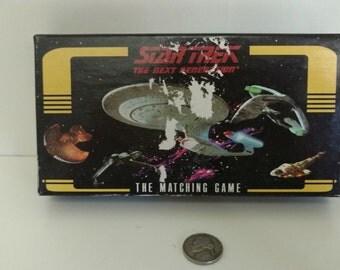 1995 Star Trek the next generation matching game