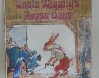 1976 Uncle Wiggily's Happy Days by Howard Garis illustrated by Aldren Watson