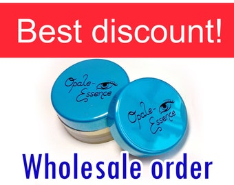 Wholesale order - Mineral eyeshadows - DELUXE SIFTER JAR - Save up to 50 percent - Natural makeup