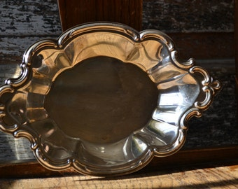 Wakefield Silver Bon Bon/Candy Dish 548 from 1960's