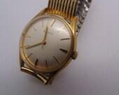Mens Elgin Mechanical 17 Jewel Wristwatch 60's A. Schild 96, Running