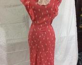 30's cotton Dress