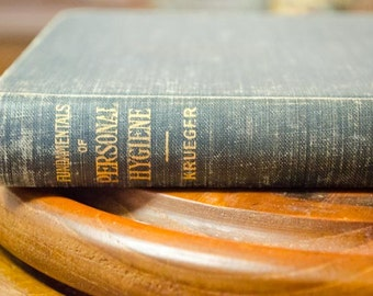 W. Krueger, Fundamentals of Personal Hygiene, 3rd edition, vintage hygiene reference book