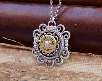 Choice 38 Special Necklace-Winchester 38 Spl Necklace-Federal 38 Spl Necklace-WW 38 Necklace-Hornady 38 Spl-RP 38 spl Necklace-Hornady 38