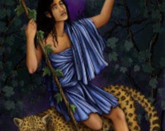 Dionysos Prayer Card