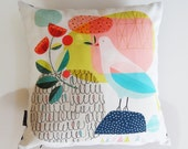 spring gathering2, pillow cover