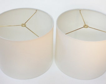 High Gloss White Lamp Shades
