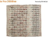 NEW LOCATION 10% Off 4x4.5 Vintage Jijim Square Rug