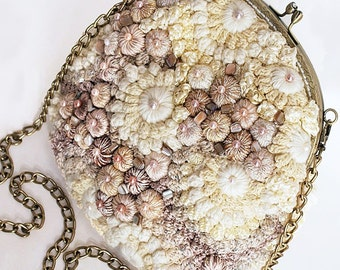 "Boho Eco Handmade Bag ""Antoinette"" (crocheted eco-friedly ethnic bags buy)"