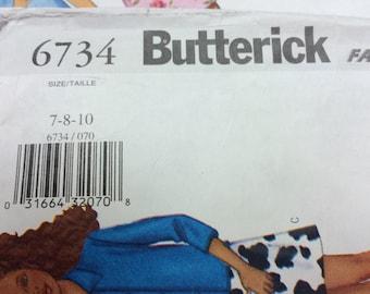 Butterick Girls Pattern 6734