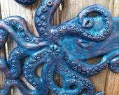 Kraken Giant Squid Sculpture - Outdoors