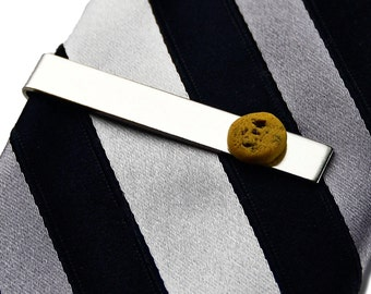 Cookie Tie Clip - Tie Bar - Tie Clasp - Business Gift - Handmade - Gift Box Included