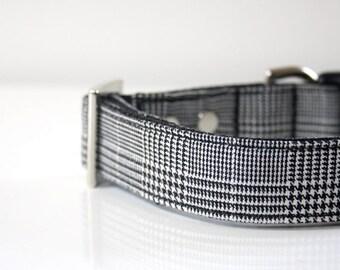 Glen Plaid Check Dog Collar