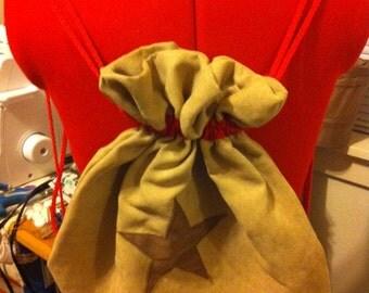 Animal Crossing Bell Bag Drawstring Backpack