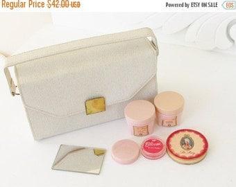 SaLe Vintage Hudnut DuBarry Make up Travel Purse Beauty Kit 1960s
