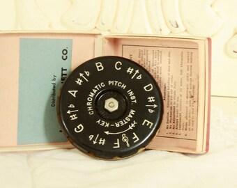 Vintage Chromatic Pitch Instrument - Pitch Key Instrument - Lindner's Master Key Instrument - Music Teacher's Pitch Key Instrument