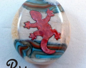 Lampwork Focal Bead -'Roadkill'