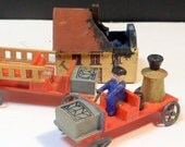 Wooden Miniatures Toys Firefighters The First Responders Antique Erzgebirge Germany