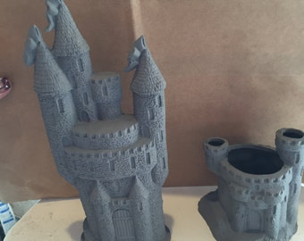Castles ceramic bisque