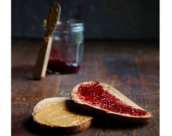 PB & J // Food Photography // Kitchen Decor