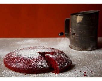 Red Velvet // Food Photography // Kitchen Decor