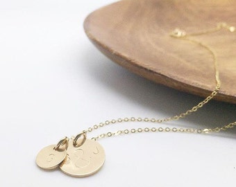 Mommy necklaces - custom pendants - pendant necklaces - love necklace - stamped jewelry - mother and child necklace - etsy jewelry