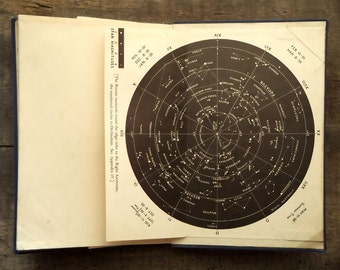 Astronomy book A Guide to the Sky by Ernest Agar Beet vintage 1930s book