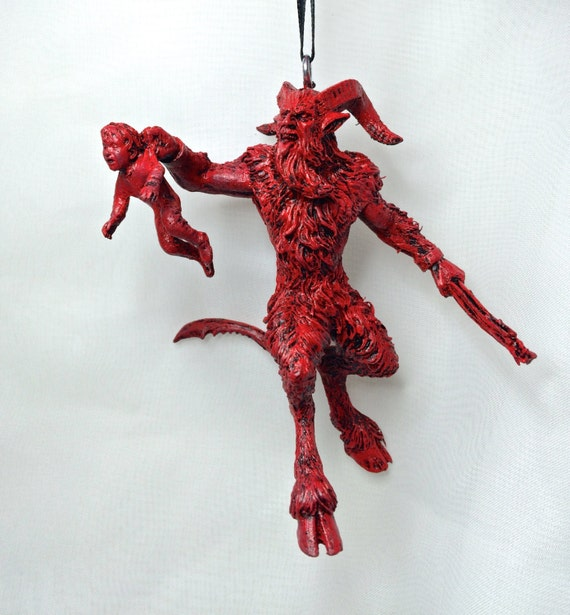 Krampus Ornament version 3